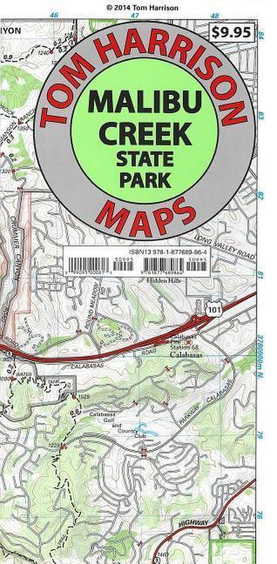 Malibu Creek State Park Trail Map