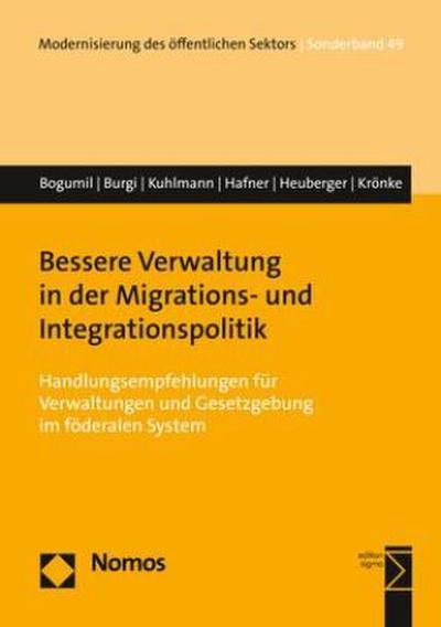 Bessere Verwaltung in der Migrations- und Integrationspolitik