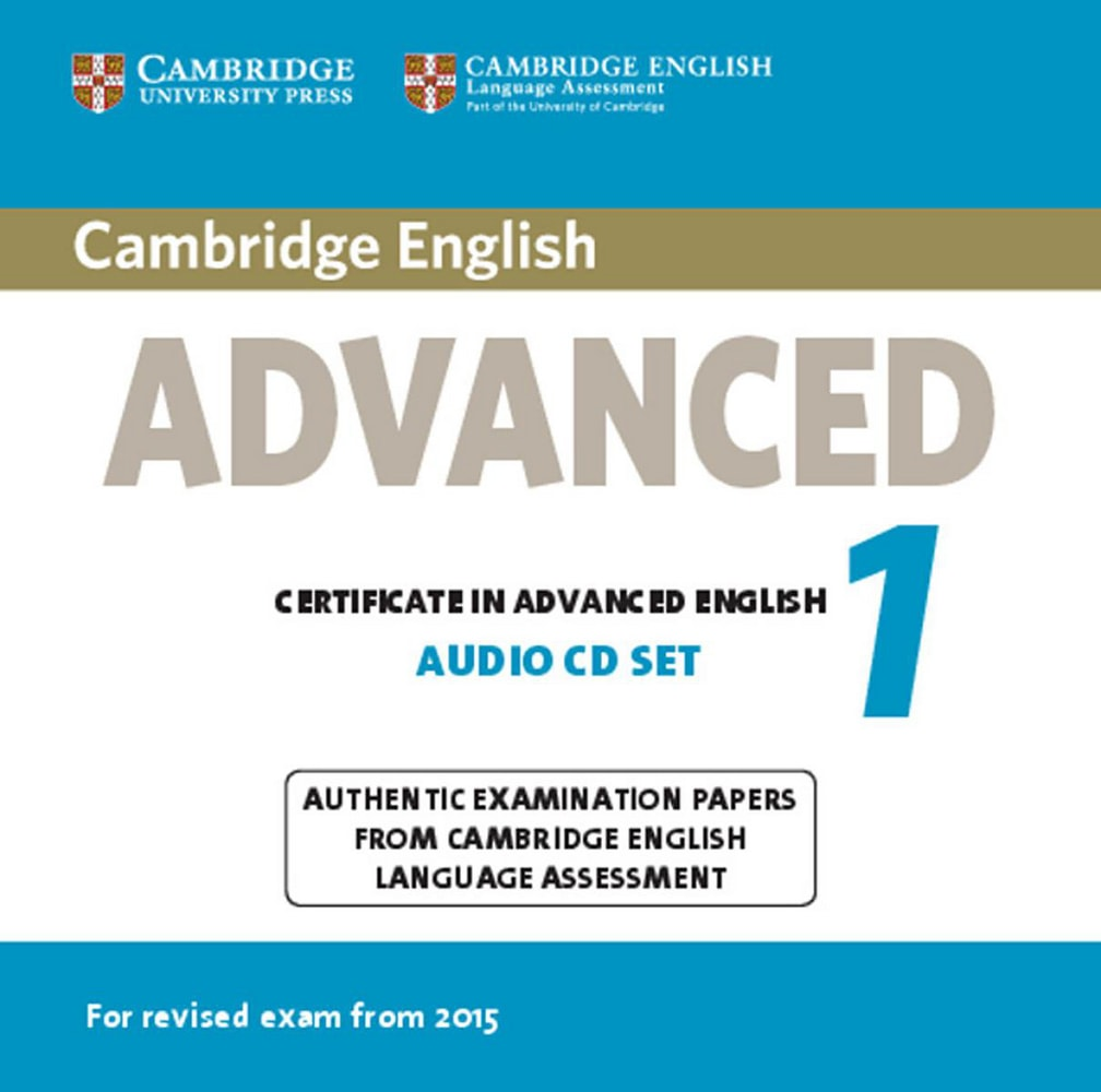 Cambridge English Advanced 1 for updated exam. Audio CDs (2)
