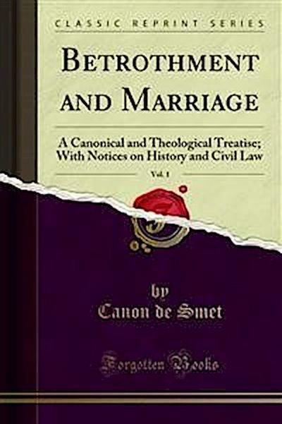 Betrothment and Marriage