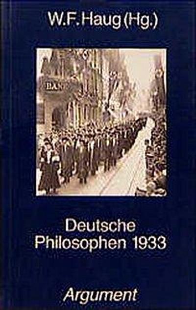 Deutsche Philosophen 1933 (Ideologische Mächte im deutschen Faschismus)