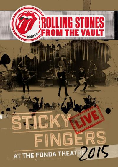 From The Vault: Sticky Fingers Live 2015 (Dvd)