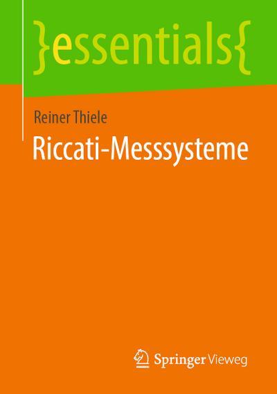 Riccati-Messsysteme