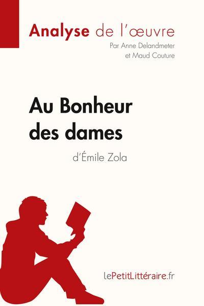 Au Bonheur des Dames de Emile Zola (Fiche de lecture)