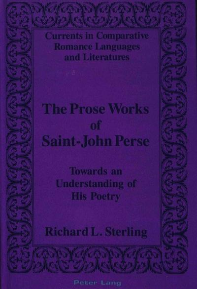 The Prose Works of Saint-John Perse