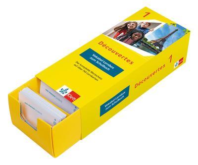 Découvertes 1 ab 2020 - Vokabel-Lernbox zum Schulbuch Klasse 6: Französisch passend zum Lehrwerk üben
