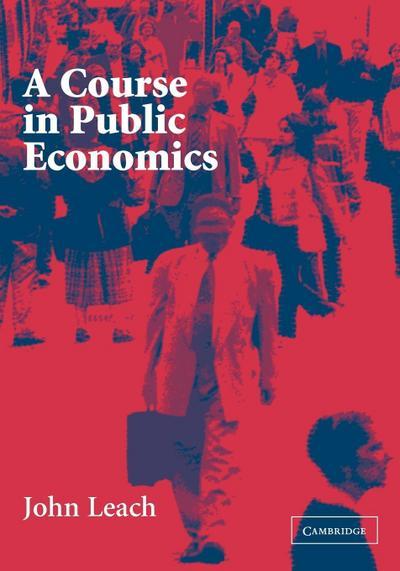 Course in Public Economics
