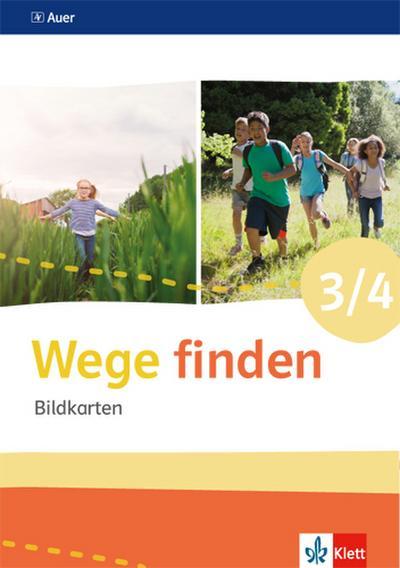 Wege finden Bildkarten Klasse 3/4. Ausgabe Sachsen, Sachsen-Anhalt und Thüringen ab 2017