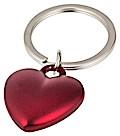 Herz, Schlüsselanhänger, rot matt