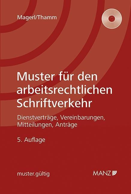 Muster für den arbeitsrechtlichen Schriftverkehr, Susanne Magerl