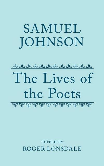 The Lives of the Poets, Volume 3
