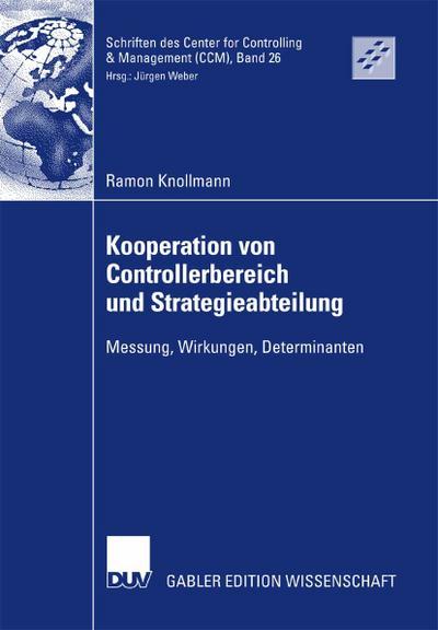 Kooperation von Controllerbereich und Strategieabteilung
