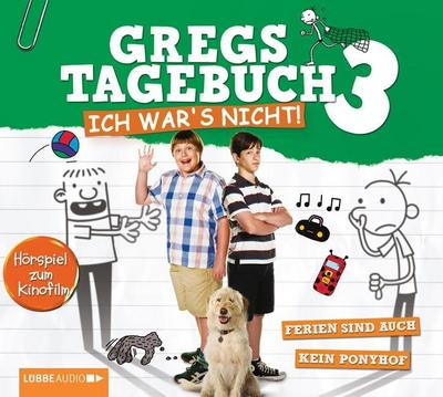 Gregs Tagebuch, Ich war's nicht!, Audio-CD