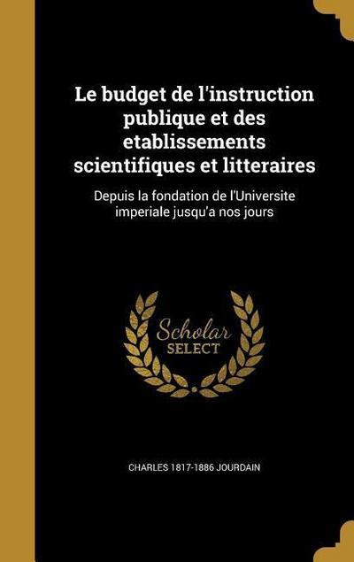 FRE-BUDGET DE LINSTRUCTION PUB