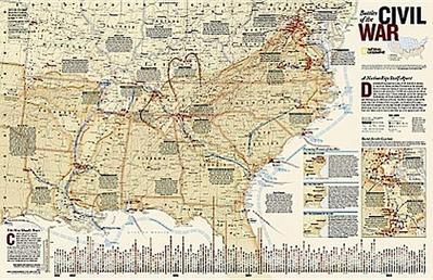 Battles of the Civil War [Tubed]
