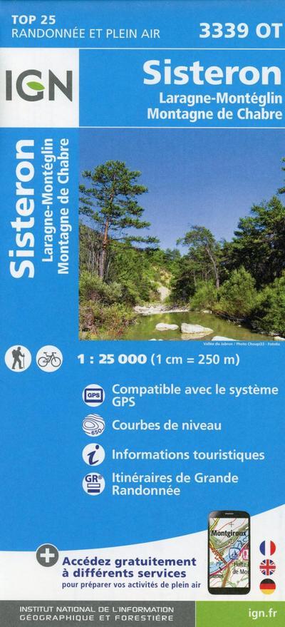 Sisteron 1 : 25 000