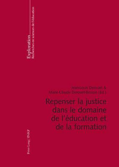 Repenser la justice dans le domaine de l'éducation et de la formation