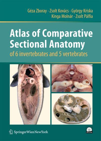 Atlas of Comparative Sectional Anatomy of 6 invertebrates and 5 vertebrates, w. CD-ROM