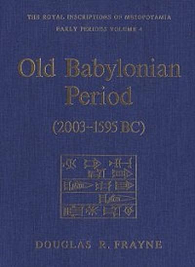 Old Babylonian Period (2003-1595 B.C.)