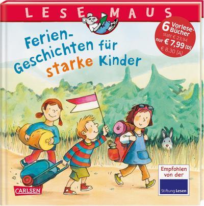 LESEMAUS Sonderbände: Ferien-Geschichten für starke Kinder