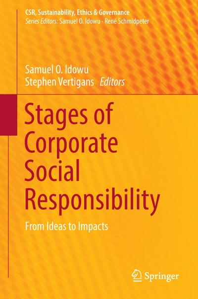 Stages of Corporate Social Responsibility