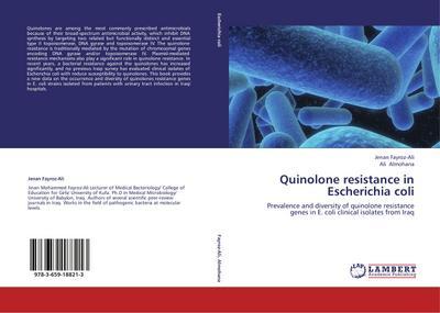 Quinolone resistance in Escherichia coli
