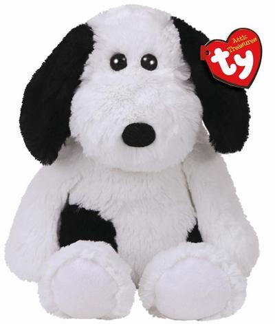 Muggy, Hund schwarz/weiß 33cm