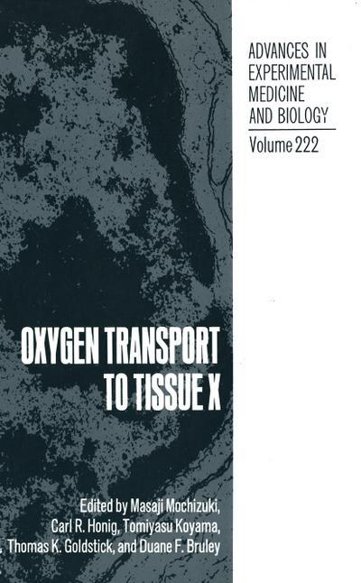 Oxygen Transport to Tissue X