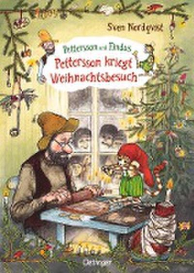 Pettersson und Findus. Pettersson kriegt Weihnachtsbesuch