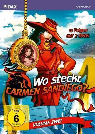 Wo steckt Carmen Sandiego? Vol. 2. 2 DVDs