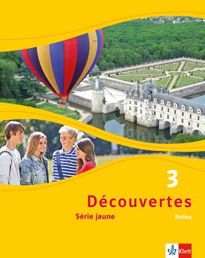 Découvertes Série jaune 3. Folien (Abbildungen aus dem Schülerbuch und Transferfolien)