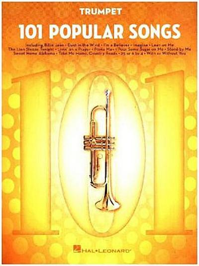 101 Popular Songs -For Trumpet-