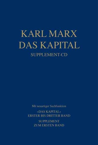 Das Kapital. Supplement-CD
