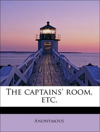 The captains' room, etc.