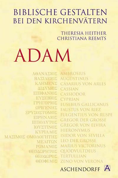 Biblische Gestalten bei den Kirchenvätern: Adam