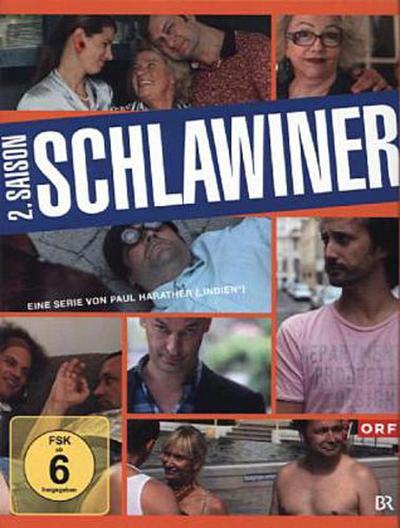 Schlawiner. Staffel.2, 3 DVDs