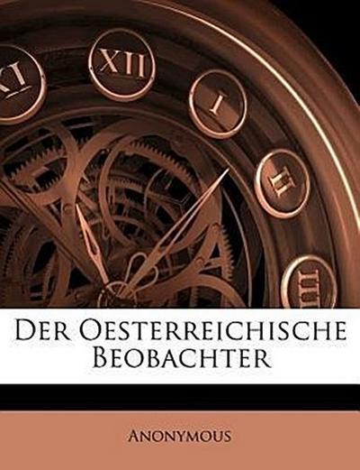 Oesterreichischer Beobachter.