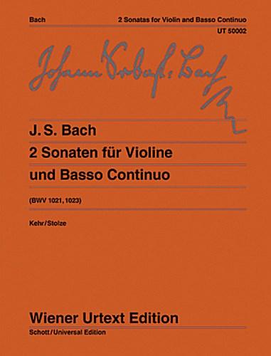 2 Sonaten G-Dur/e-Moll Günter Kehr