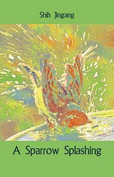 A Sparrow Splashing