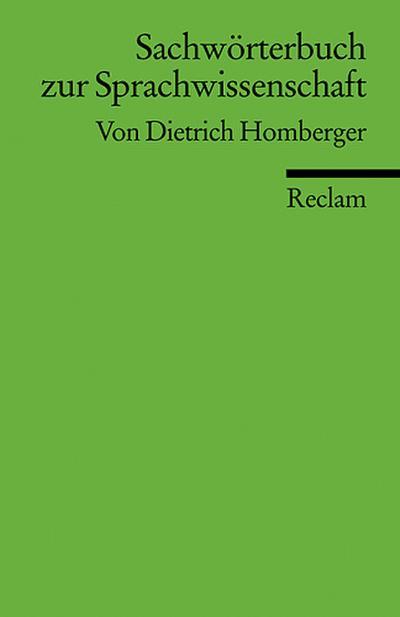 Sachwörterbuch zur Sprachwissenschaft