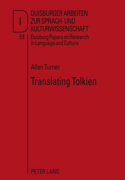 Translating Tolkien
