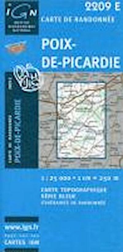 Poix de Picardie 1 : 25 000