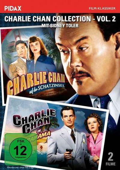 Charlie Chan Collection - Vol. 2 (Charlie Chan auf der Schatzinsel + Charlie Chan in Panama)