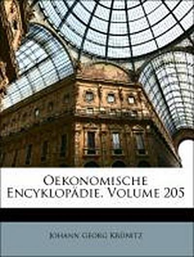 Oekonomische Encyklopädie, Zweihundert und fuenfter Theil