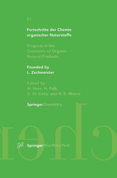 Progress in the Chemistry of Organic Natural Products 81