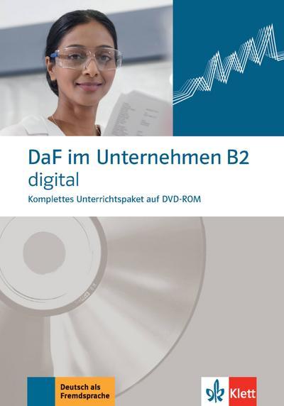 DaF im Unternehmen B2 digital. DVD-ROM
