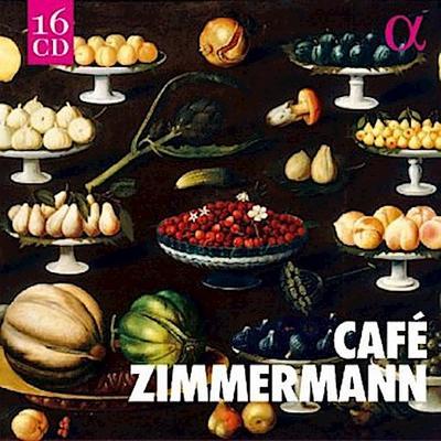 Café Zimmermann - ALPHA-Collection, 16 Audio-CDs