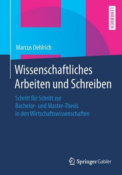 Master thesis schreiben