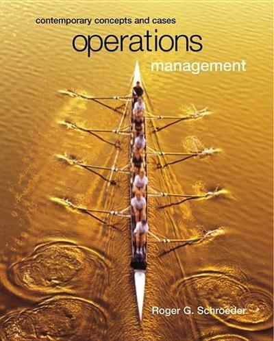 Operations Management: Contemporary Concepts with CD-ROM and Powerweb