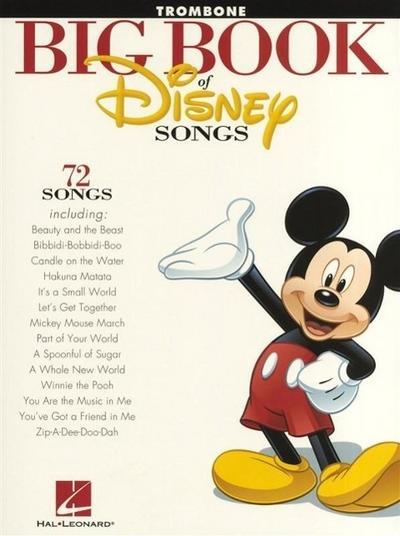 Big Book of Disney Songs: Trombone